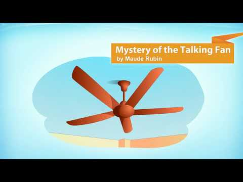NCERT Solutions for Class 7 English Poem The Mystery of the Talking Fan