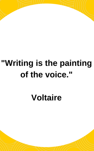 Writing Skills Quote