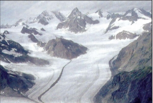 NCERT Solutions For Class 7 Social Science Geography Chapter 3 Our Changing Earth A Glacier